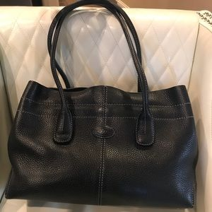 Tod's Classic D-Bag Tote Leather Small